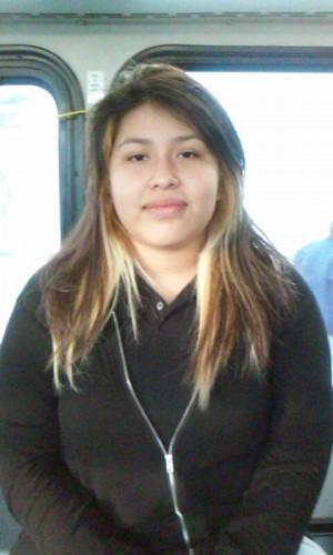 Karina Estevez, a freshmen    from Animo Pat Brown