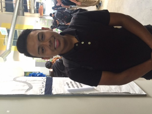 John Ibarra, student at APB