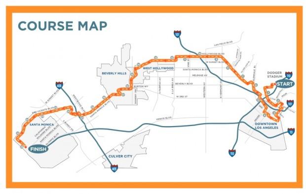 La-Marathon-2014-course-map